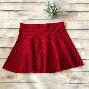 Candie's Sweater Flare Skirt Size M